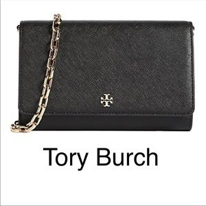 NWT Tory Burch Robinson Wallet On The Chain
